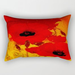 FLOWERS - Mellow yellow Rectangular Pillow
