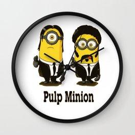 Pulp minion Wall Clock