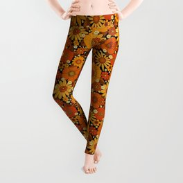 Come and get your love - orange Leggings