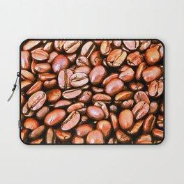 roasted coffee beans texture acrsat Laptop Sleeve