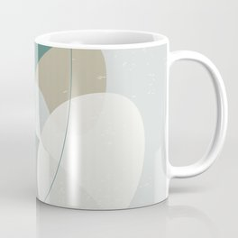 Abstract Stones in Blue No. 1 Coffee Mug