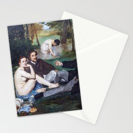 Edouard Manet - Lunch on the Grass Stationery Cards