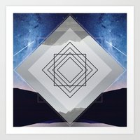 Synchronicity • Window of Time Art Print