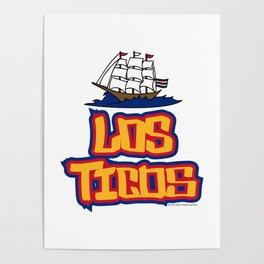 Costa Rica Los Ticos ~Group E~ Poster