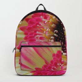 Pink Neon Germini Close Up Backpack