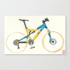 Coffee Wheels #13 Canvas Print