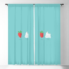 Strawberry&Cream Blackout Curtain