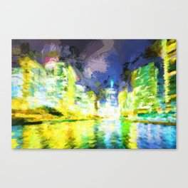 Down the River II Canvas Print