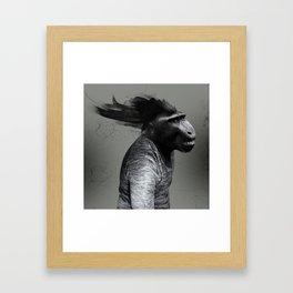 Regresión #005m Framed Art Print