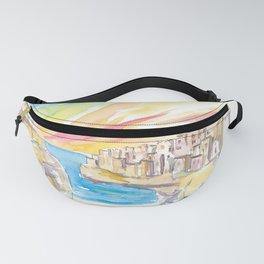 Polignano wonderful Morning in Southern Italy Fanny Pack