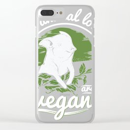 Real animal lovers ar Clear iPhone Case