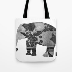 Elephant (The  Living Things Series)  Tote Bag