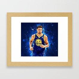 Klay Tompson Golden State Framed Art Print