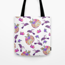Hummingbird Sweets Tote Bag