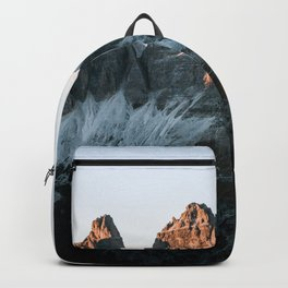 Dolomites sunset panorama - Landscape Photography Backpack