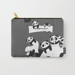 Panda party Carry-All Pouch