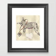 Love: A Bitch Framed Art Print