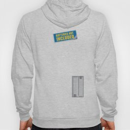 Batteries Not Included ~ Green Hoody