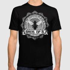 Bros. of B. Dark Mens Fitted Tee LARGE Black