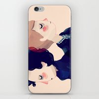 221b iPhone & iPod Skins featuring 221B by Nan Lawson