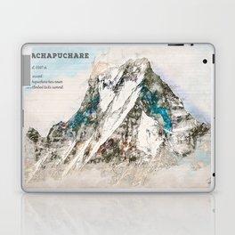 Machapuchare, Nepal Asia Laptop & iPad Skin