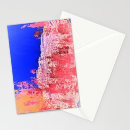 Into the Mist Pantone Color of the Year 2016 Abstract Stationery Cards