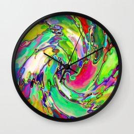 Candy Swirl Wall Clock