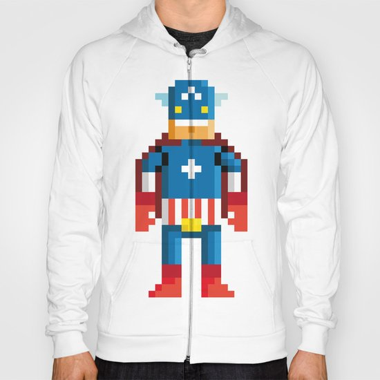 Pixelman America Hoody