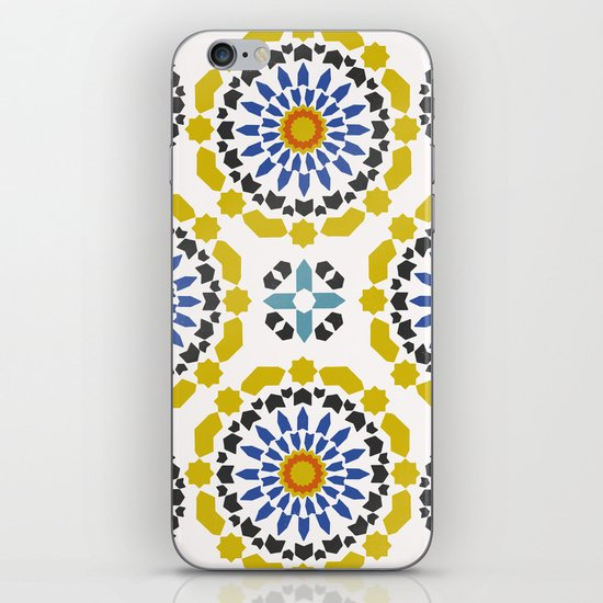 Moroccan Pattern iPhone & iPod Skin