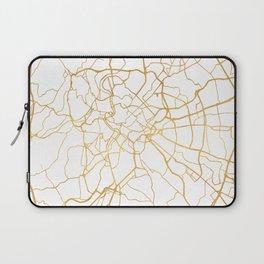 ROME ITALY CITY STREET MAP ART Laptop Sleeve