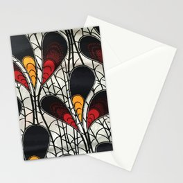 African Tribal Pattern No. 105 Stationery Cards