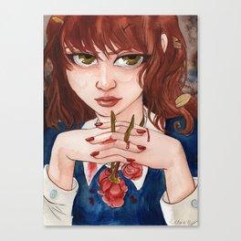 Blood Roses Canvas Print