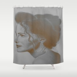 Pretty Woman Shower Curtain