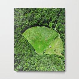 Hidden Field Metal Print