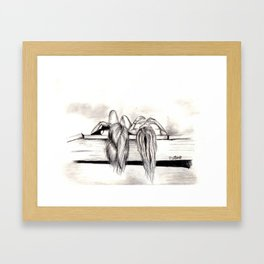 Foolish days  Framed Art Print