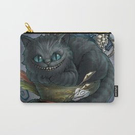 The Cheshire Cat and his friends Carry-All Pouch