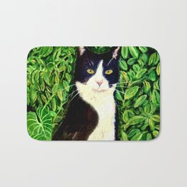 Kitty in the Woods Bath Mat