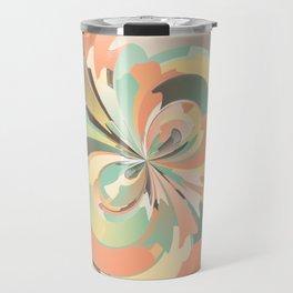 Digital watercolor Travel Mug