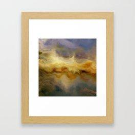 Golden Arrival: Emerging Hope Framed Art Print