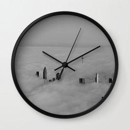 Foggy Day #2 Wall Clock