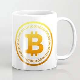 BITCOIN Symbol CRYPTO Coffee Mug
