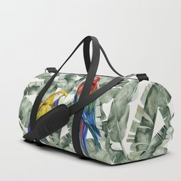 PARROTS IN THE JUNGLE Duffle Bag