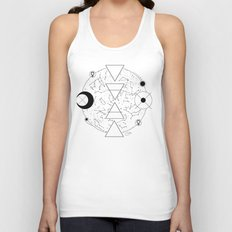 Celestial Alchemical Earth Unisex Tank Top