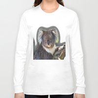 koala Long Sleeve T-shirts featuring Koala by SwanniePhotoArt