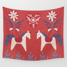 Swedish Christmas 2 Wall Tapestry