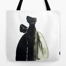 Long Black Couture Dress Tote Bag