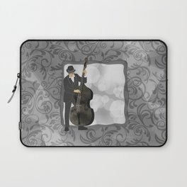 Double Bass Laptop Sleeve