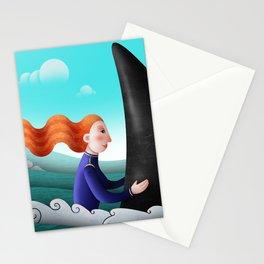 Feeling of freedom Stationery Cards