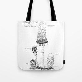Learn the Shaggy Mane Tote Bag