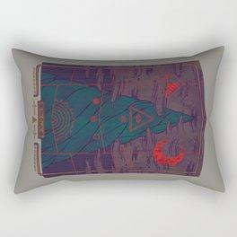 Mount Death Rectangular Pillow